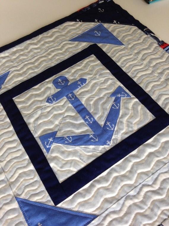 Anchors Away #1 PDF Paper Piecing Pattern