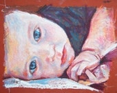 RESERVED LISTING- 18 x 24 Original Oil Pastel from your Photograph by BethanyBryant