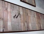 RESERVED KATE 12x24 Barn Board (black).. Magnet Dry Erase Steel Memo Board / Housewarming Friend Gift / Office Decor / Organization / Desk