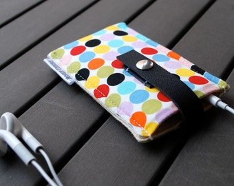 iPod Nano Case with Leather Strap / iPod Case / iPhone Case / Samsung Galaxy Cases / 1st, 2nd, 3rd, 4th, 5th, 6th, 7th - Cosmopolitan Spring