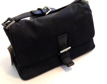Vintage purse black purse Classic purse leather purse coach purse designer purse retro purse handbag tote bag buckled bag shoulder strap bag