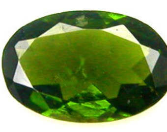 one 6x4mm Oval Faceted ~ Genuine Tourmaline ~ Genuine ~  FDK