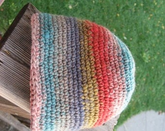 Multicolor Crocheted Hat for a Child 3-6 months 195/13