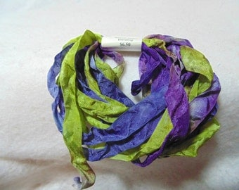 Garden Path Hand-Dyed Rayon Seam Binding 5yds