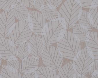 SAMPLE Beech Leaves Wallpaper - Kraft