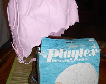 Pink Vintage Bathing Beauty Swim Cap NIB Water Petal