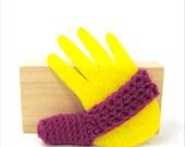 Fuschia Purple Thumb Sucker Helper To Help Stopping Thumb Sucking