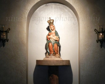 Our Lady Photography, Religious Art, Virgin Mary and Jesus Print, Breast Feeding Art,Christian Art,New Mother Christian Fine Art Photography