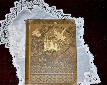 MOTHER 1878 Antique Book / Golden Thoughts on Mother, Home, and Heaven / Mom's Day / Mother Love / Gift