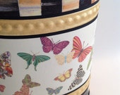Waste Basket, Whimsical Container, Holder for Dried Flowers, Magazines, Newspapers, Towels, Knitting, Gift Item