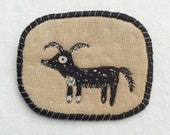 """Brooch - """"Lopy ears"""" -  Funny Dogs - collection, hand embroidered pet brooch"""