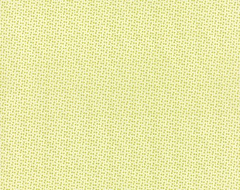 SALE - 3 1/4 yards -  Miss Kate -Dot in Green Apple - SKU 55094 13 - by Bonnie and Camille for Moda Fabrics