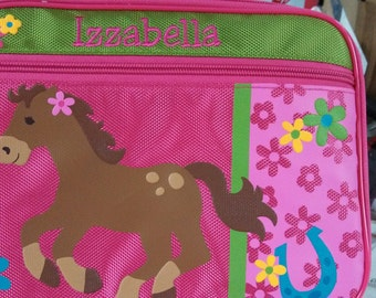 Personalized Stephen Joseph Horse Lunchbox