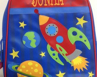 Vinyl Stephen Joseph Go Go Space Backpack Diaperbag