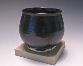 Ramekin. Black & Turquoise. Northern Lights Combo. #1