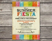 PRINTABLE Fiesta Party Invitation