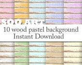 wood  pastel color  on paper texture : SooArt Good for Scrapbook,  Art, ACEO, ATC, Pendant etc.