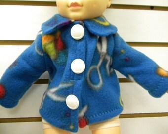 Fleece sweater for 18 inch doll