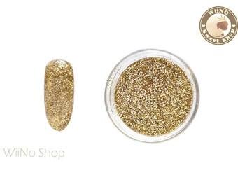 Champagne Gold Glitter Dust Powder / Sparkle Powder / Nail Art Craft (B12)