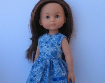 Clothes for Corolle Les Cheries,Paola Reina Doll Dress with Pocket