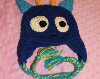 Monster hat newborn to 5 years