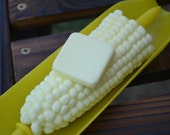 Food Soap - Corn on the Cob Barbecue Soap - Novelty Soap - Barbecue - Fathers Day - Food Soap - Novelty Soap - Vegan - Veggie