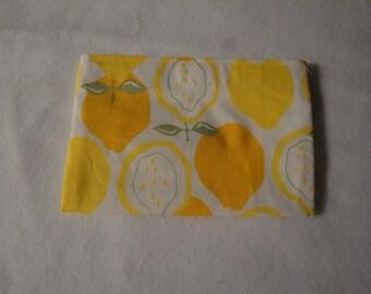 Lemons Eco-Friendly Reusable Snack Bag