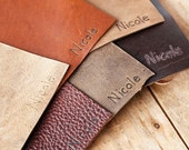 Personalization Upgrade For Your Leather Journal - Name Upgrade
