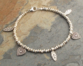 Thai Hill Tribe Silver Bracelet - Charmed