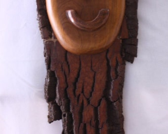 Wall Hanging Wood Man