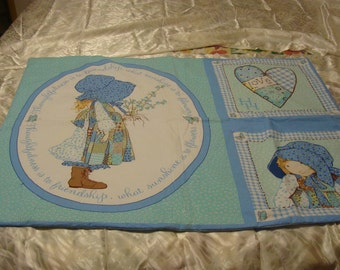 Baby Quilt~~~ Blue Friendship
