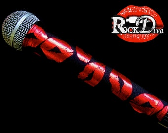 MICROPHONE COVER (Rock Diva) for CORDLESS Microphones