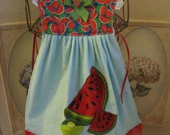 Watermelon Kitchen Towel Dress