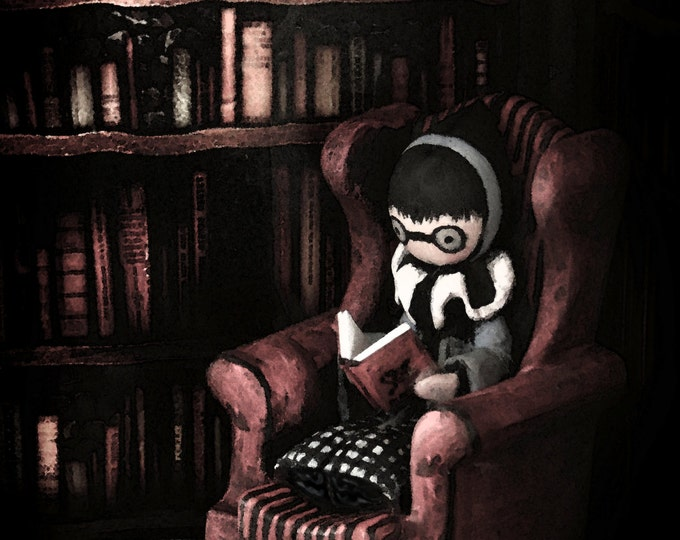 The Story Chair - Limited Edition Print - Lisa Snellings