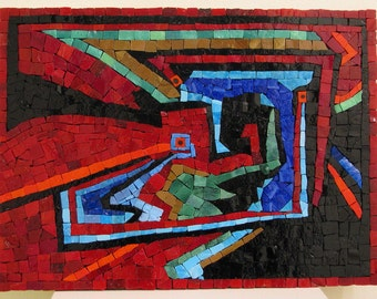 SALE Druid37 -  Abstract Mosaic