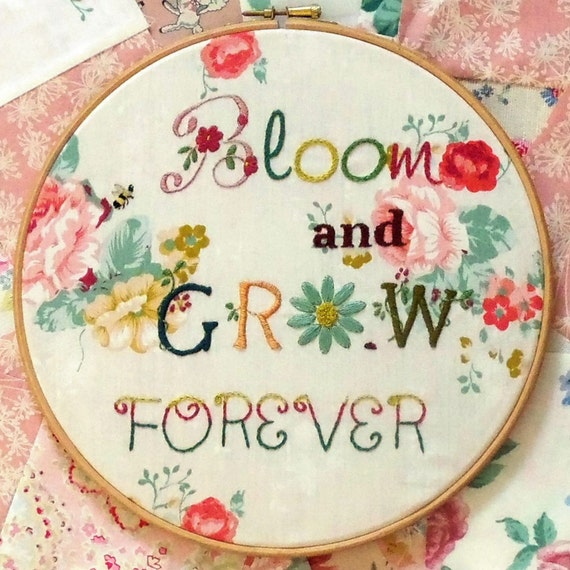 Bloom & Grow Embroidery Kit