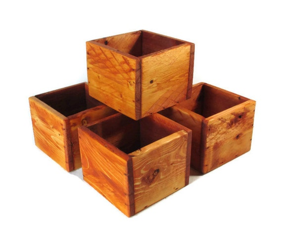 Wedding decorations centerpiece lot of small wood boxes