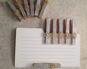 6 Decorative Clothespins