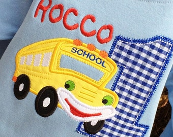 Boys Shool Bus Themed Birthday