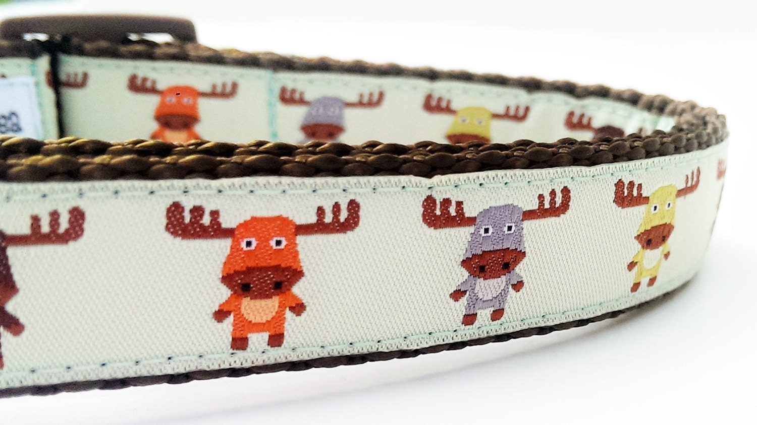 The Modern Moose Dog Collar Handmade Pet Accessories