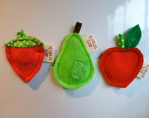 Fruit Magnets, Kitchen Magnets, Unique Magnets