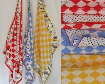 Anne Klein Three Square Silk Scarves
