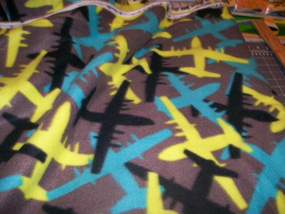 Blizzard fleece fabric airplane camo 60 39 39 wide 100 for Airplane fabric by the yard