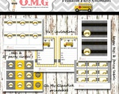 Vintage School Bus Party Package  by Oh My Gluestick