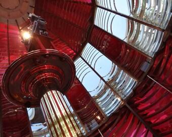 Fine Art Photograph Umqua River Lighthouse Lens