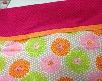 Colorful Flower Pillowcase