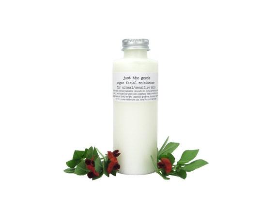 Vegan Normal/Sensitive Skin Moisturizer - 4 oz / 118 mL
