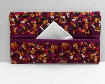 Mosaic Tissue Cozy/Gift Card Holder/Party Favor/Wedding Favor