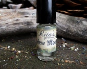 Rita's New Moon Hand Brewed Ritual Oil - Imagination, Creativity, Sowing Seeds - Pagan, Magic, Hoodoo, Witchcraft, Juju