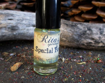 Rita's Special Favors Hand Brewed Ritual Oil - Get Help When You Need it Most